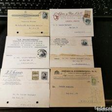 Sellos: LOTE DE TARJETAS POSTALES CON PUBLICIDAD REPÚBLICA Y ALFONSO XIII. Lote 173874229