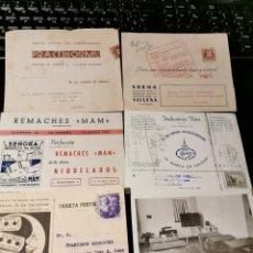 Sellos: LOTE DE TARJETAS POSTALES CON PUBLICIDAD. ESTADO ESPAÑOL. Lote 173876422