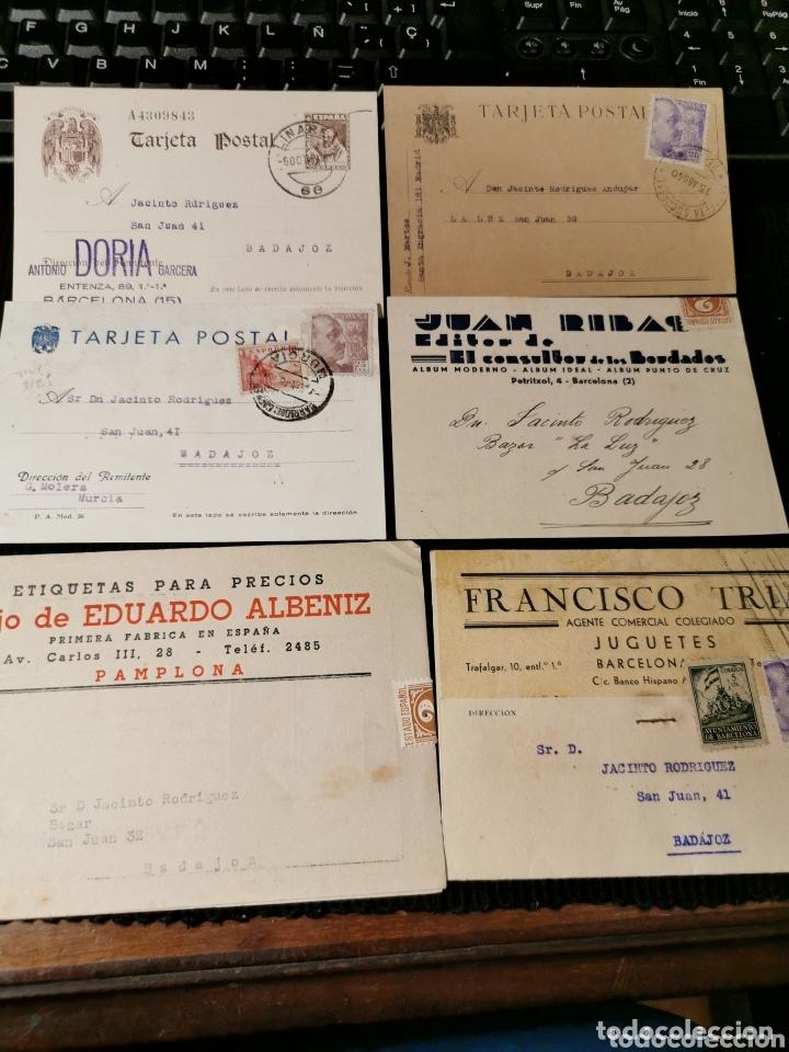 LOTE DE TARJETAS POSTALES CON PUBLICIDAD. ESTADO ESPAÑOL (Sellos - España - Tarjetas)