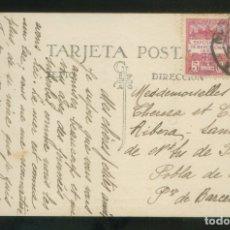 Timbres: TP CIRCULADA BADALONA A LA POBLA DE LILLET, AGOSTO 1930. SELLO AYUNTAMIENTO BARCELONA.. Lote 12894835