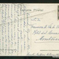 Sellos: TP CIRCULADA BARCELONA A MONTSERRAT, ABRIL 1943. SELLO *AYUNTAMIENTO BARCELONA* SIN FRANQUEO.. Lote 12894925