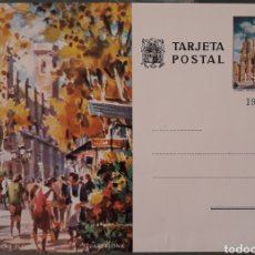 Sellos: TARJETA POSTAL RAMBLA DE LAS FLORES BARCELONA. Lote 174884863