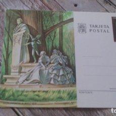 Sellos: SEVILLA, MONUMENTO A BEQUER, TARJETA POSTAL. Lote 176163014