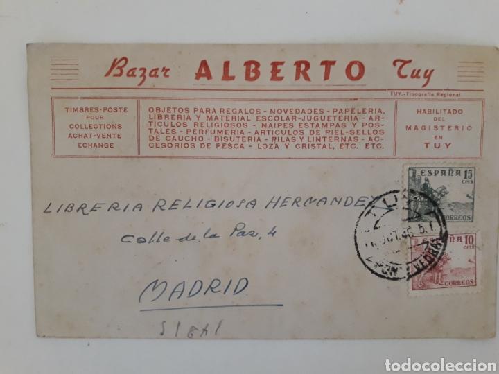 BILLETE POSTAL TARJETA COMERCIAL (Sellos - España - Tarjetas)