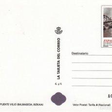 Sellos: LA TARJETA DEL CORREO NUM 48-1 PUENTE VIEJO - BALMASEDA- 1999. Lote 177191578