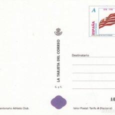 Sellos: LA TARJETA DEL CORREO NUM 70-1 CENTENARIO ATHLETIC CLUB DE BILBAO 1998. Lote 177192542