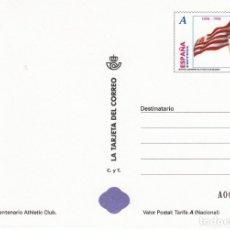 Sellos: LA TARJETA DEL CORREO NUM 70-3 CENTENARIO ATHLETIC CLUB DE BILBAO 1998. Lote 177193088