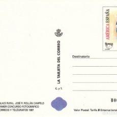 Sellos: LA TARJETA DEL CORREO NUM 80-3 ENLACE RURAL PRIMER CONCURSO FOTOGRAFICO 1997 . Lote 177296298