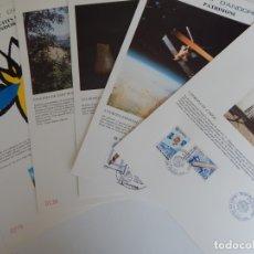 Sellos: 6 MÁXIMAS - PRINCIPAT D'ANDORRA / EUROPA 91 - PATRIMONI - EUROPA 1991 - TURÍSTICA - IV JOCS DELS .... Lote 177777669
