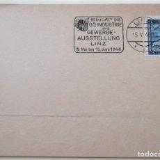 Sellos: AUSTRIA. TP CON MATASELLO DE 1946. SELLO DE VISTAS DIVERSAS.. Lote 177892069