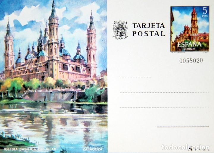 Sellos: M64 COLECCION 8 TARJETAS POSTALES FNMT 1970s NUEVAS: ZARAGOZA,MADRID,BARCELONA,CORDOBA - Foto 2 - 178672406