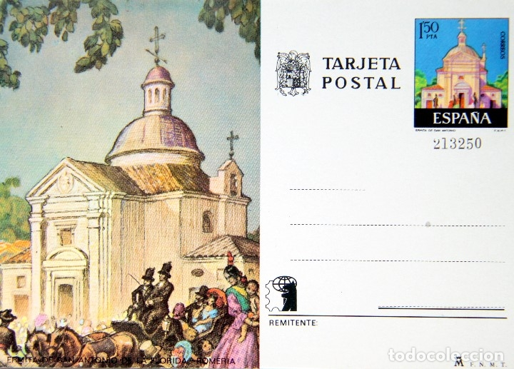 Sellos: M64 COLECCION 8 TARJETAS POSTALES FNMT 1970s NUEVAS: ZARAGOZA,MADRID,BARCELONA,CORDOBA - Foto 3 - 178672406