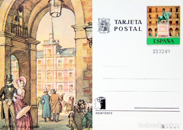 Sellos: M64 COLECCION 8 TARJETAS POSTALES FNMT 1970s NUEVAS: ZARAGOZA,MADRID,BARCELONA,CORDOBA - Foto 8 - 178672406