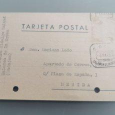 Selos: ZALAMEA DE LA SERENA BADAJOZ. TARJETA CORCIAL.. Lote 181670480
