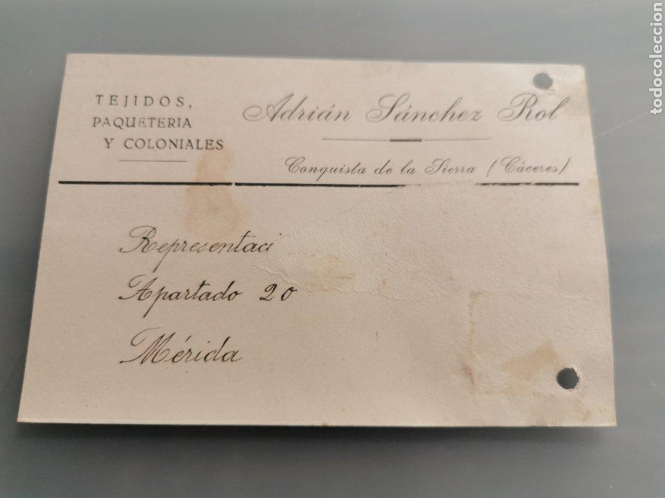 CONQUISTA DE LA SIERRA CACERES (Sellos - España - Tarjetas)
