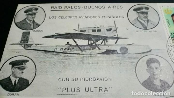 Sellos: TARJETA FILATELICA MATASELLOS ESPECIAL EXPOSICION DE AEROFILATELIA VALENCIA 1976 - Foto 4 - 181960503