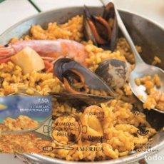 Sellos: SPAIN 2019 - UPAEP AMERICA, TRADITIONAL FOODS, PAELLA MAXIMUM CARD. Lote 183219670