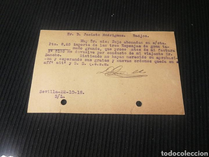 Sellos: La estrella roja. Sevilla 1918. - Foto 2 - 183888156