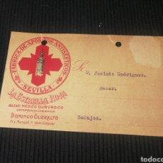 Sellos: LA ESTRELLA ROJA. SEVILLA 1918.. Lote 183888156