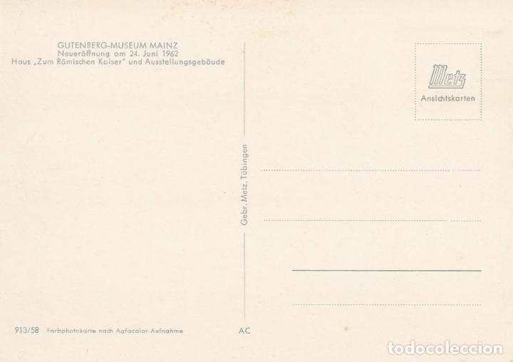 Sellos: Alemania, 25 septiembre 1964 - Gutenberg. Museo de Gutenberg, Mainz - Foto 2 - 184942237
