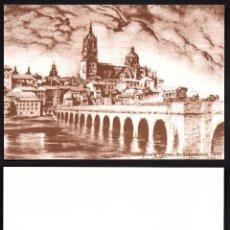 Selos: POSTAL DIRECCION GENERAL DE CORREOS -DILIGENCIA CORREO SALAMANCA 1895. Lote 190409451