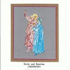 Sellos: VATICANO IVERT 431, CENTENARIO DE DANTE. PARAISO (BOTTICELLI). MATASELLOS DEL 18-3-1965. Lote 190442075