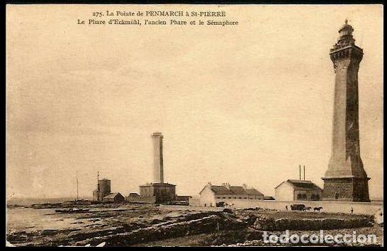 FRANCIA TP FARO D ' ECKMÜHL (Sellos - Extranjero - Tarjetas)