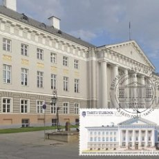 Sellos: ESTONIA 2019 - ESTONIA'S NATIONAL UNIVERSITY 100 MAXIMUM CARD. Lote 194650373