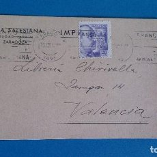 Sellos: TARJETA POSTAL OBRA SALESIANA LIBRERIA CHIRIVELLA. Lote 195276530