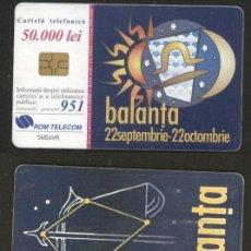 Sellos: ROMANIA 2000 TELEPHONE CARD LIBRA SIGN ROM 82B CT.040. Lote 198275828