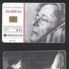 Sellos: ROMANIA 2001 TELEPHONE CARD GEORGE ENESCU ROM 111 CT.081. Lote 198275868