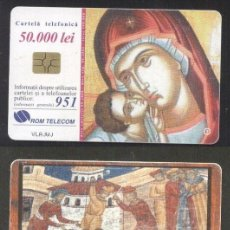 Sellos: ROMANIA 2000 TELEPHONE CARD ICONS ROM 73 CT.071. Lote 198275902