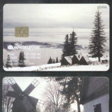 Sellos: ROMANIA 2002 TELEPHONE CARD NATURE WINTER CT.018. Lote 198275908