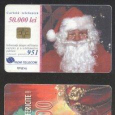 Sellos: ROMANIA 2000 TELEPHONE CARD SANTA CLAUS ROM 87A CT.074. Lote 198275912