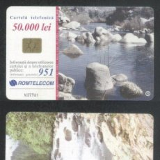 Sellos: ROMANIA 2002 TELEPHONE CARD SPRING ROM 137 CT.077. Lote 198276022