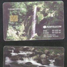 Sellos: ROMANIA 2003 TELEPHONE CARD WATERFALL BEUSNITA ROM 183 CT.070. Lote 198276077