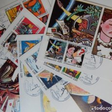 Sellos: 6 MÁXIMAS FRANCIA (29.1.1988 - CÓMICS, COMUNICACIONES / LA BANDE DESSINÉE FRANÇAISE LA COMMUNICATION. Lote 205252273