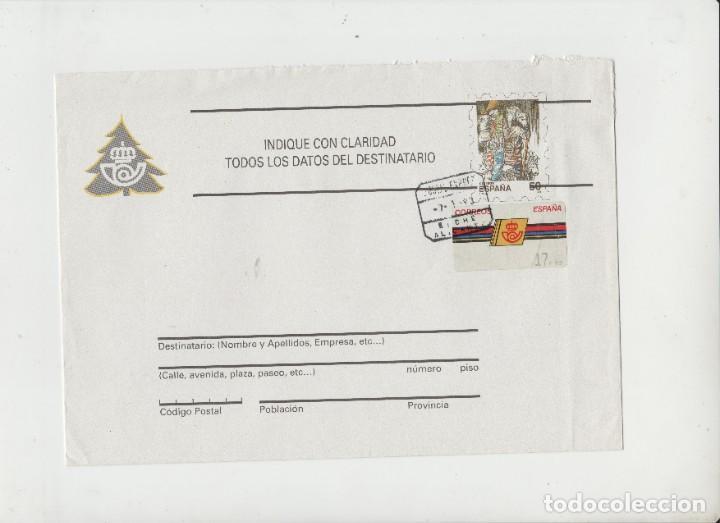 LOTE B- SOBRE MATA SELLOS CORREO ESPREX SOBRE PREFRANQUEADO (Sellos - Extranjero - Tarjetas)