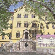 Sellos: CROATIA 2019 - 350 YEARS OF THE UNIVERSITY OF ZAGREB MAXIMUM CARD. Lote 207138467