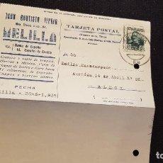 Sellos: 1936 JUAN BAUTISTA FERRER. Lote 211398419