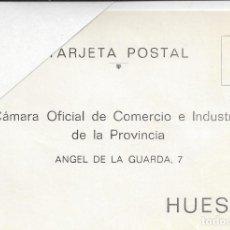 Sellos: TARJETA POSTAL CAMARA COMERCIO HUESCA.AÑOS 60. SIN USAR. Lote 212526096