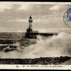 Sellos: FRANCIA 1933 FARO LE TREPORT. Lote 216585185