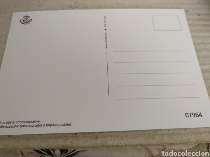 Sellos: Tarjeta Postal Conmemorativa. Mujeres para el Deporte. Sólo para Abonados al Servicio Filatélico - Foto 2 - 252803580