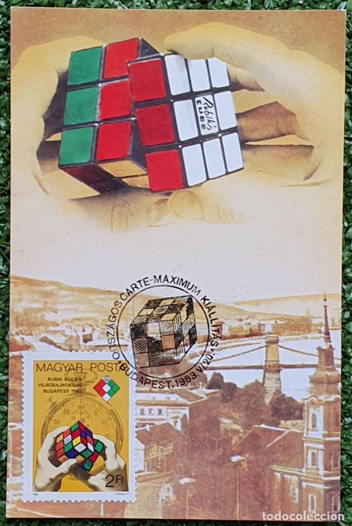 Sellos: 47 Tarjetas Máximas de Magyar Posta (Hungria) 1970-83 - Foto 3 - 217600396