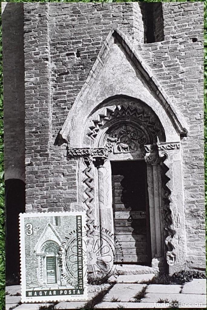 Sellos: 47 Tarjetas Máximas de Magyar Posta (Hungria) 1970-83 - Foto 5 - 217600396