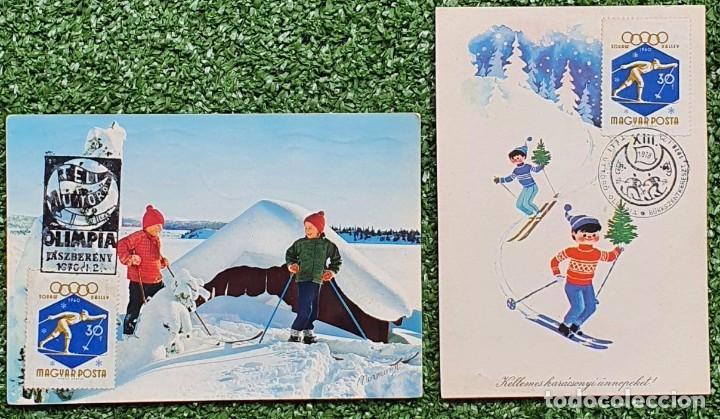 Sellos: 47 Tarjetas Máximas de Magyar Posta (Hungria) 1970-83 - Foto 12 - 217600396