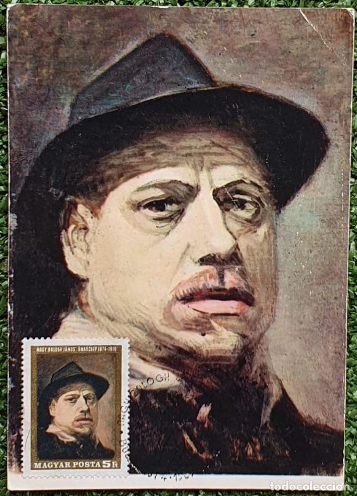 Sellos: 47 Tarjetas Máximas de Magyar Posta (Hungria) 1970-83 - Foto 13 - 217600396