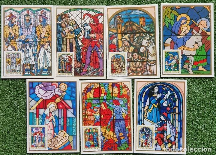 Sellos: 47 Tarjetas Máximas de Magyar Posta (Hungria) 1970-83 - Foto 15 - 217600396