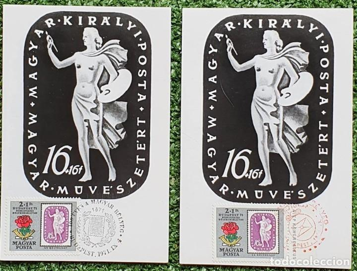 Sellos: 47 Tarjetas Máximas de Magyar Posta (Hungria) 1970-83 - Foto 16 - 217600396