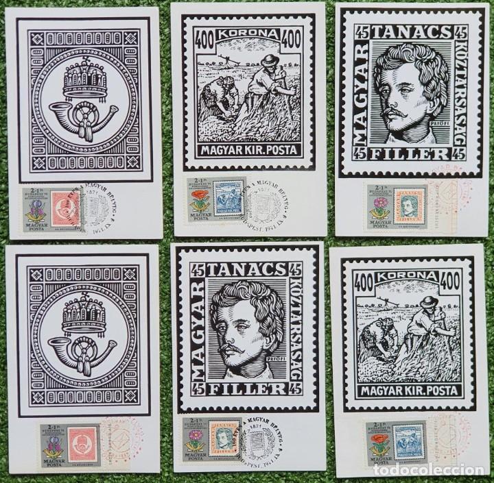 Sellos: 47 Tarjetas Máximas de Magyar Posta (Hungria) 1970-83 - Foto 17 - 217600396